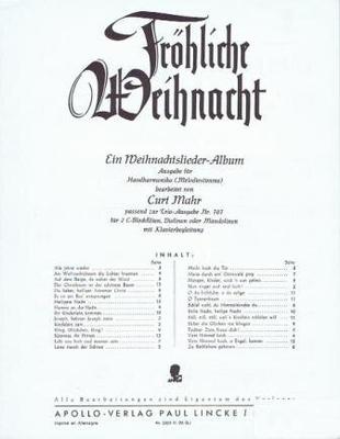 Fröhliche Weihnacht /  / Apollo-Verlag