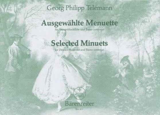 Ausgewählte Menuette TWV 34 / Telemann Georg Philip / Bärenreiter