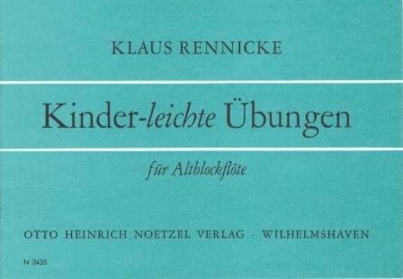 Kinder-leichte Uebungen / Rennicke Klaus / Noetzel