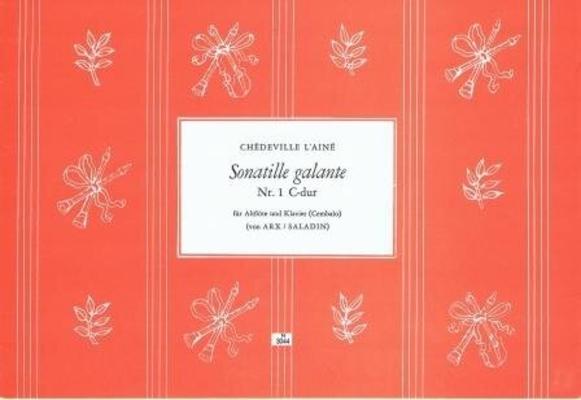 Sonatille galante no 1 en do majeur / Chédeville Esprit Philippe / Noetzel
