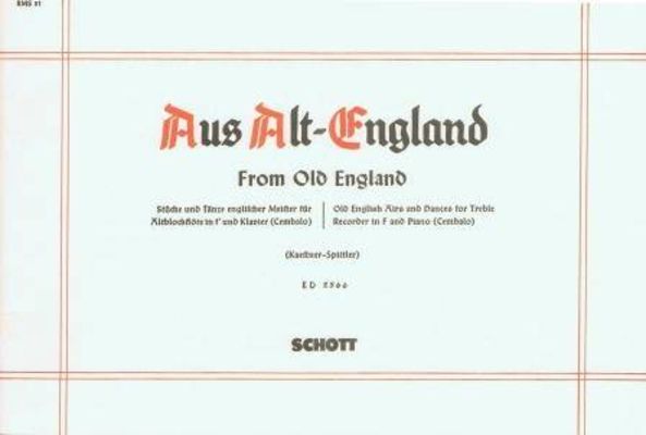Aus Alt-England / Heinz Kaestner / Schott