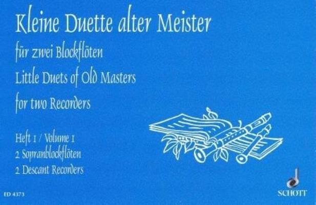 Kleine Duette alter Meister, vol. 1 / Heinz Kaestner / Schott