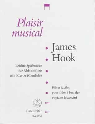 Pièces faciles / Hook James / Bärenreiter