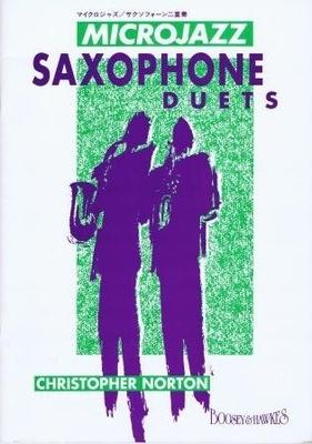 Microjazz / Microjazz Saxophone duets / Norton Christopher / Boosey & Hawkes