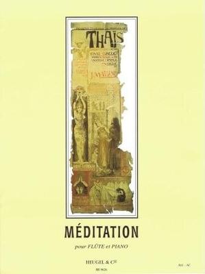 Méditation de Thas / Massenet  Jules / Heugel