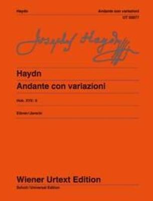 Wiener Urtext Edition / Andante con variazioni Hob.XVII:6 / Andante Con Variazioni – F Minor Hob. XVII / Franz Joseph Haydn / Wiener Urtext