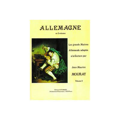 Les grands maîtres adaptés à la guitare: Allemagne, vol. 2 /  / Combre