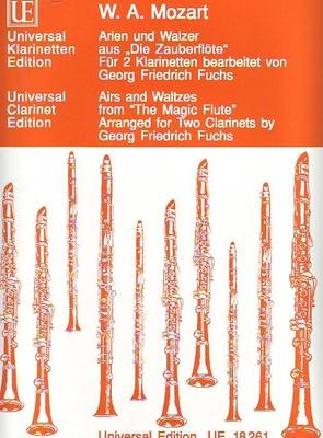 Arien und Walzer aus 'Die Zauberflöte' / Mozart Wolfgang Amadeus / Universal Edition