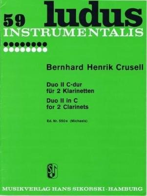 Duo no 2 en do majeur / Crusell Bernhard Henrik / Sikorski