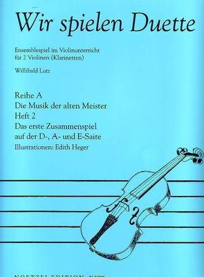 Wir spielen Duette, vol. 2 /  / Noetzel