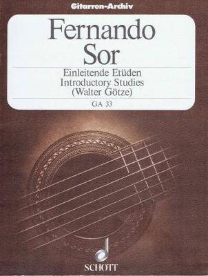 Gitarren-Archiv (GA) / Einleitende Etüden, op. 60 / Sor Fernando / Schott