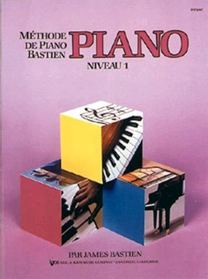 Méthode de Piano Bastien Piano Niveau 1 / Bastien James / Kjos Music Co