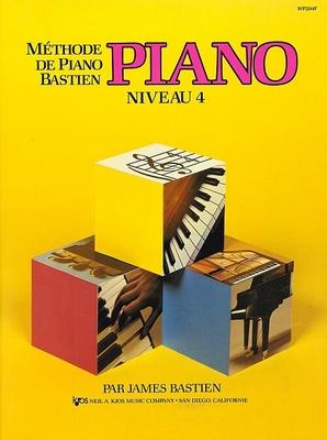 Méthode de Piano Bastien Piano Niveau 4 / Bastien James / Kjos Music Co