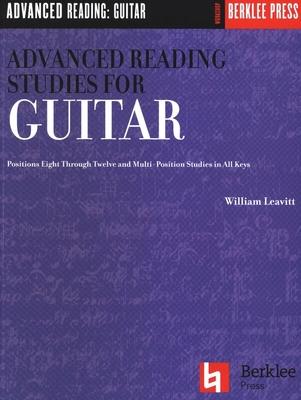 Advanced Reading Studies For Guitar / Leavitt, William (Artist) / G. Schirmer