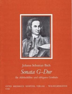 Sonate en sol majeur BWV 1032 / Bach Jean Sébastien / Noetzel