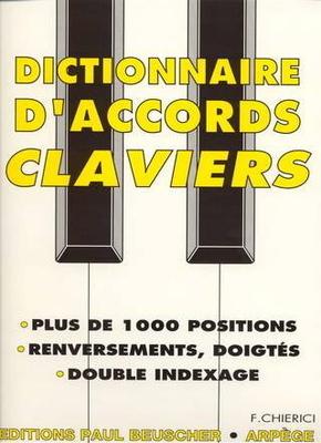 Dictionnaire d'accords pour claviers / Chierici F. / Paul Beuscher