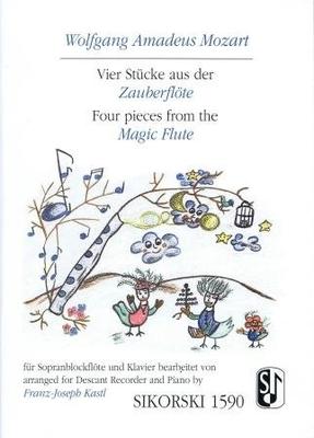 Vier Stücke aus der Zauberflöte / Mozart Wolfgang Amadeus / Sikorski