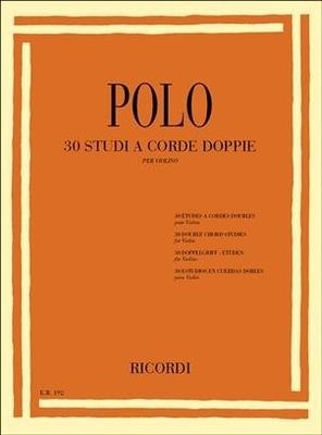 30 études en double-corde / Enrico Polo / Ricordi