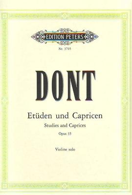 Etudes et caprices op. 35 / Dont Jacob / Peters