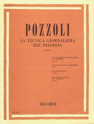 La tecnica giornaliera del pianista vol. 3 / Pozzoli Ettore / Ricordi