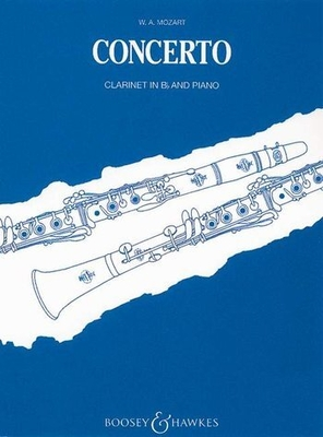 Concerto KV 622 / Clarinet Concerto K.622 / Wolfgang Amadeus Mozart / Boosey and Hawkes