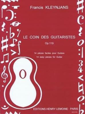 Le coin des guitaristes op. 119 / Kleynjans Francis / Henry Lemoine