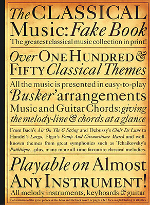Real/Fake book / The Classical Music Fake Book /  / Wise Publications