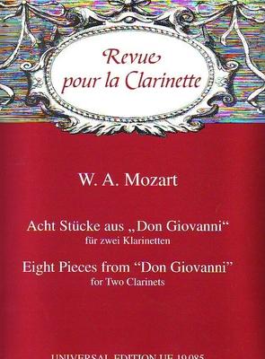 8 pièces de Don Juan / Mozart Wolfgang Amadeus / Universal Edition