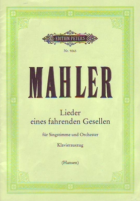 Lieder eines fahrenden Gesellen / Mahler Gustav / Peters