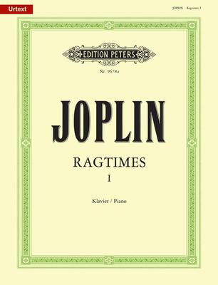 Edition Peters Green Series / Ragtimes 1  Scott Joplin  Klavier Buch  EP9678A / Joplin Scott / Peters