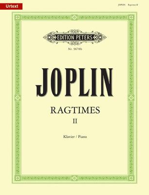 Ragtimes 2  Scott Joplin  Klavier Buch  EP9678B / Joplin Scott / Peters