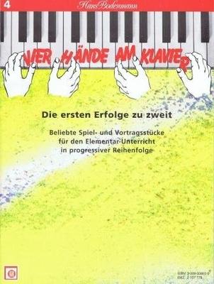Vier Hände am Klavier vol. 4 /  / Melodie