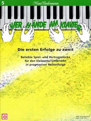 Vier Hände am Klavier vol. 5 /  / Melodie
