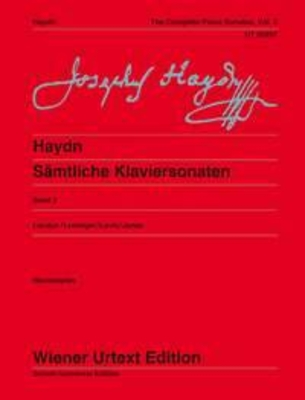 Wiener Urtext Edition / The Complete Piano Sonatas Vol. 2 / Franz Joseph Haydn / Christa Landon / Wiener Urtext