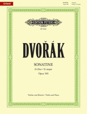 Sonatine en sol majeur op. 100Sonatina In G Op. 100 Violine und Klavier / Dvorak Antonin / Peters