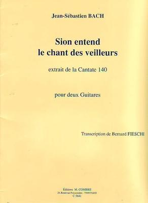 Sion entend le chant des veilleurs (Cantate 140) / Bach Jean Sébastien / Combre