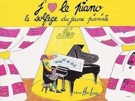 J'aime le piano / le solfège du jeune pianiste / Cléo / Henry Lemoine