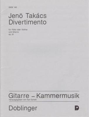 Divertimento op. 61 / Jenö Takacs / Doblinger