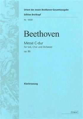 Messe en do majeur op. 86 / Ludwig van Beethoven / Carl Reinecke / Breitkopf