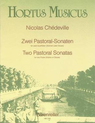 Hortus Musicus / 2 sonates pastorales / Chédeville Nicolas le jeune / Bärenreiter