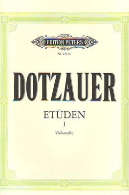 Etüden vol. 1 / Dotzauer Justus Johann Friedrich / Peters