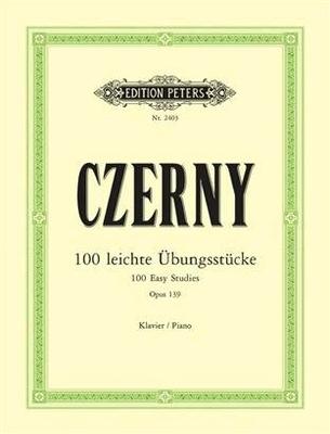 100 exercices pour les commençants op. 139 Ubungsstucke(100) Op.139 / Carl Czerny / Adolf Ruthardt / Peters