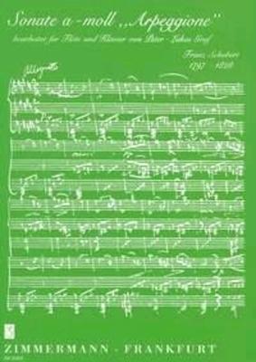 Sonate en la mineur D.821 'Arpeggione' / Schubert Franz / Zimmermann
