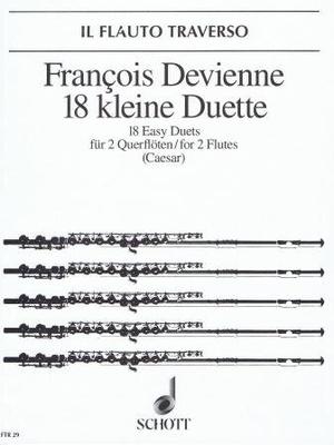 Il Flauto Traverso (FTR) / 18 kleine Duette / Devienne François / Schott