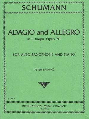 Adagio et allegro en do majeur op. 70 / Schumann Robert / International Music Co.