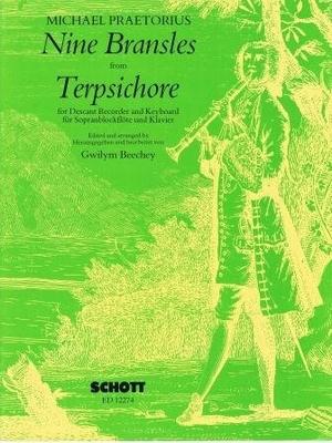 Nine bransles from Terpsichore / Praetorius Michael / Schott