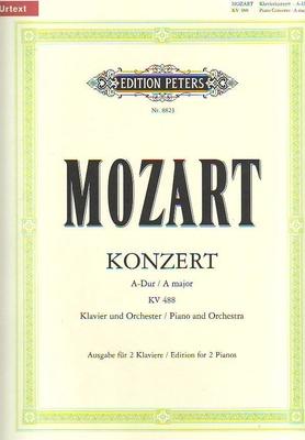 Concerto en la majeur no 23 KV 488 / Mozart Wolfgang Amadeus / Peters