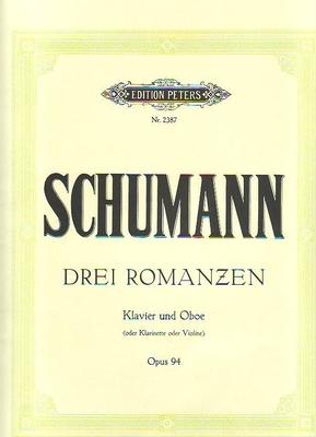 Romances op. 94Three Romances For Oboe Op.94 / Schumann Robert / Peters