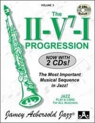 Jamey Aebersold Play-A-Long / Aebersold Vol. 3 The II/V7/I Progression Jazz Play-Along Vol.3 / Aebersold Jamey / Aebersold