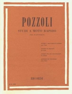 Studi a moto rapido / Pozzoli Ettore / Ricordi